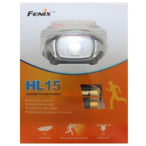 Fenix LED Stirnlampe »HL15 LED Stirnlampe inklusive Batterien, max«