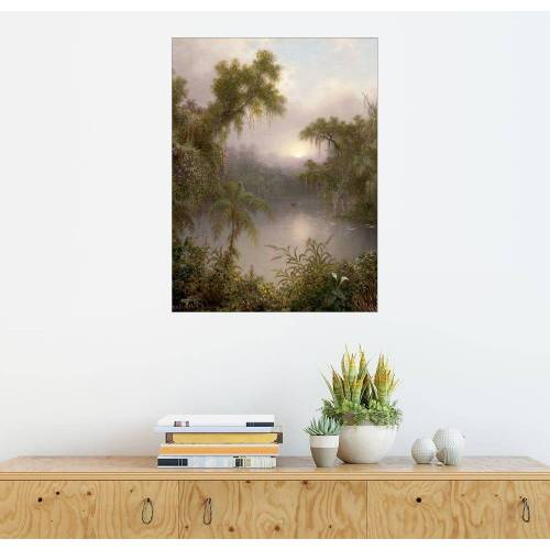 Posterlounge Wandbild, Südamerikanischer Fluss