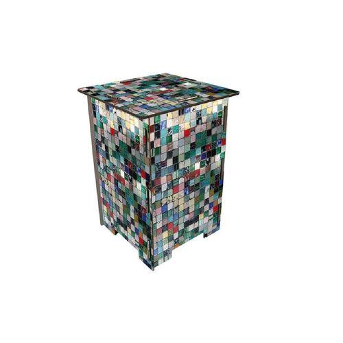 WERKHAUS® Hocker »Photo-Hocker 295 x 295 x 420 mm«, Fotohocker 037 - Mosaik, Mosaik