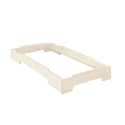 BioKinder - Das gesunde Kinderzimmer Stapelbett »Kai«, 70x140 cm, Weiß