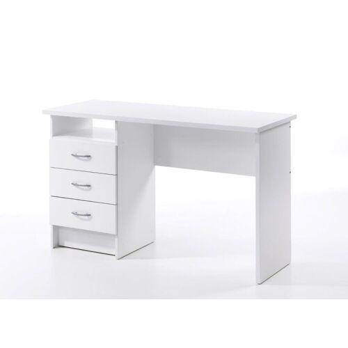 ebuy24 Schreibtisch »Fula Schreibtisch 3 Schubladen weiss.«