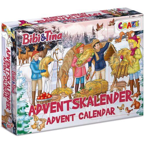 CRAZE Spiel, »Adventskalender Bibi & Tina 45 x 33,5 x 8cm«