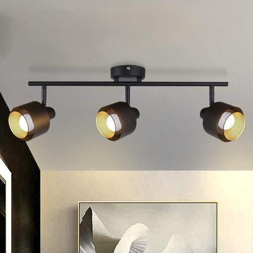 ZMH Deckenleuchte »Retro Deckenstahler Deckenlampe mit Dreh-und Schwenkbarem Strahlern Deckenspot im Industrial Design«