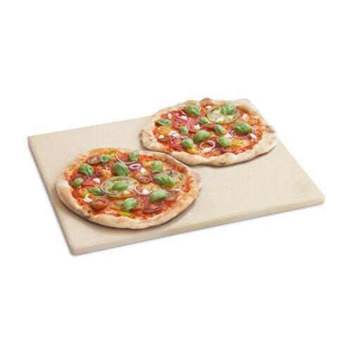 BURNHARD Pizzastein »Universal für Backofen & Grill«, Cordierit, 45 x 35 x 1.5 cm, 45 x 35 x 1.5 cm