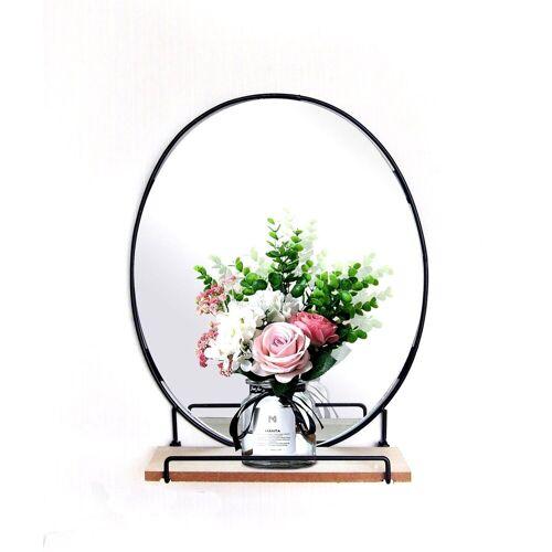 HTI-Line Wandregal »Wandboard Mirror Viola«, Wandboard