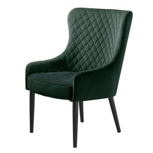 ebuy24 Relaxsessel »Otis Sessel grün Velour.«