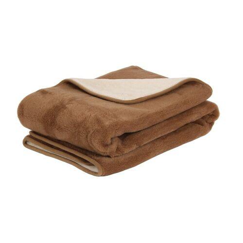 Primo Line Wolldecke »Camel Kuscheldecke 150x200 200x220 Bettdecke aus Merinowolle und Kamelwolle - Wolldecke 150 x 200 cm 200x220«, , Bettdecke aus Merinowolle und Kamelwolle