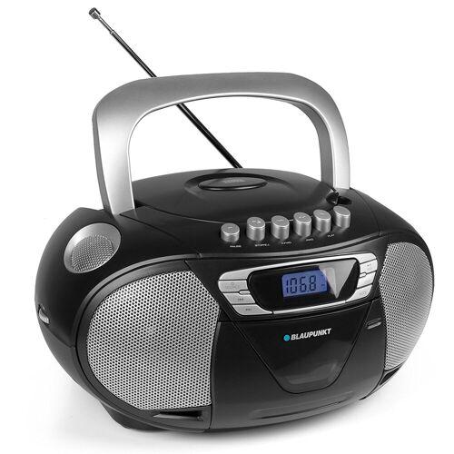 Blaupunkt »B 11 BK PLL« CD-Player (UKW, 4 W, tragbares CD-Radio, Kassettenplayer mit Kopfhöreranschluss)