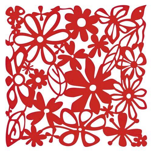 KOZIOL Raumteiler »Alice 4-tlg. Transparent Rot«