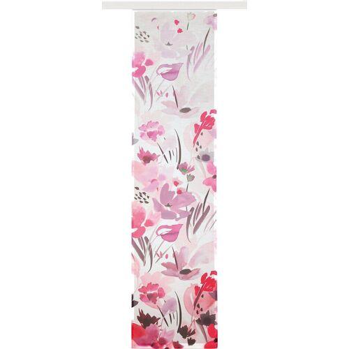 """Albani Schiebegardine »Schiebegardine """"Leni"""" 245x60 cm«, , pink"""
