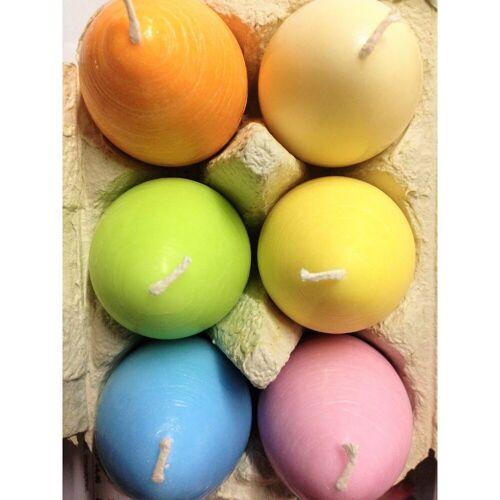 Amabiente Kerzenhalter »bunte Eierkerzen UOVO im Eierkarton«