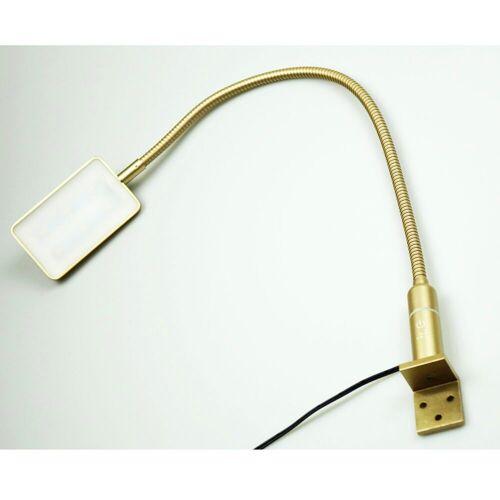 kalb Material für Möbel LED Leselampe »kalb 4W LED Bettleuchte Leseleuchte Flexleuchte Nachttischlampe Bettlampe Leselampe«