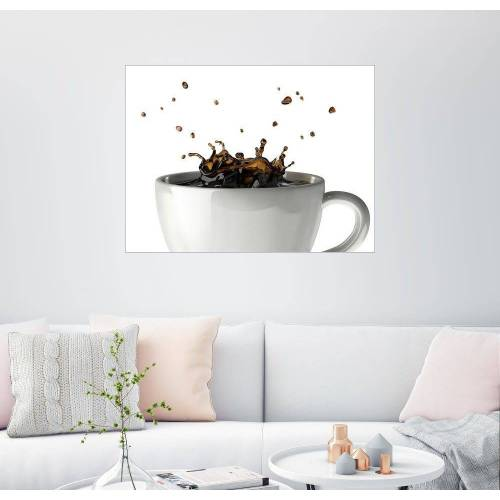 Posterlounge Wandbild, Tasse Kaffee