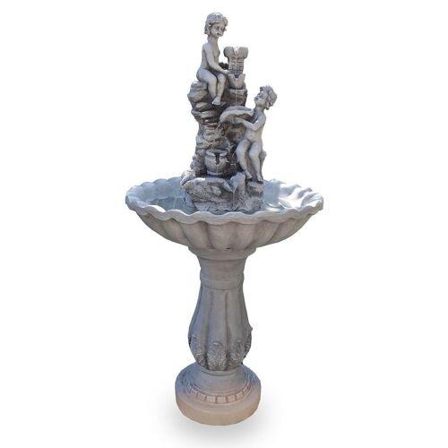 Kiom Dekoobjekt »Gartenbrunnen Figurenbrunnen FoFiglioletti 106 cm«
