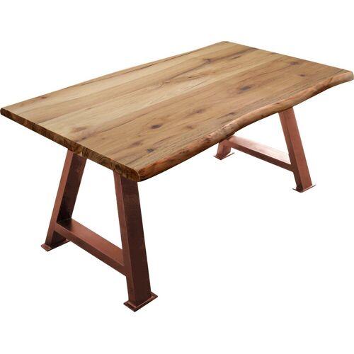 SIT Esstisch »Tops&Tables«, mit Baumkante, braun   braun