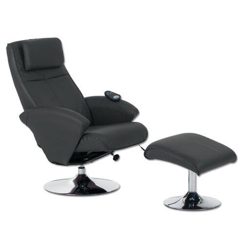 aktivshop Relaxsessel »Relax-Sessel Design, creme«, Schwarz