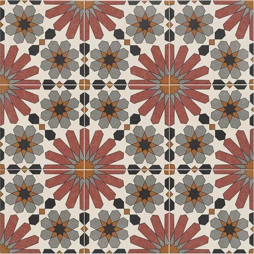Casa Moro Fliesenaufkleber »Marokkanische Fliesen Medina 20 x 20 cm 1 qm, Bodenfliesen & Wandfliesen fürr Bad & Küche, Schöne Küchenrückwand Badezimmer«