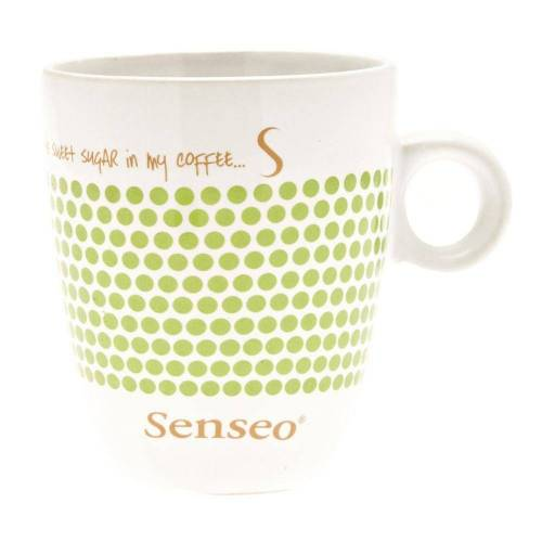 Senseo Becher »Kaffeebecher mit Henkel, weiß - blau, 160 ml«
