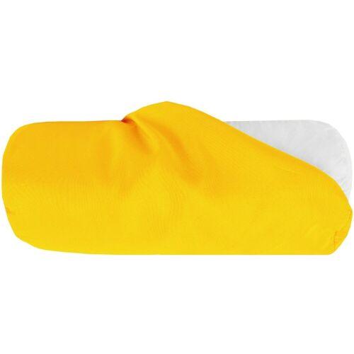 Bestlivings Nackenrollenbezug, (1 Stück), Nackenrollenbezug / Kissenbezug in versch. Größen, samtweich, Gelb