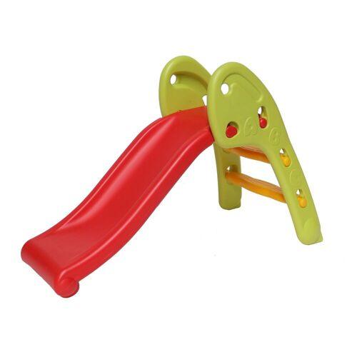 Clamaro Indoor-Rutsche, (Kinderrutsche Indoor und Outdoor), Rutsche - einfach, Kinderrutsche, Indoor, Outdoor, Spielzimmer, Garten, extra breite Standbeine und Stufen