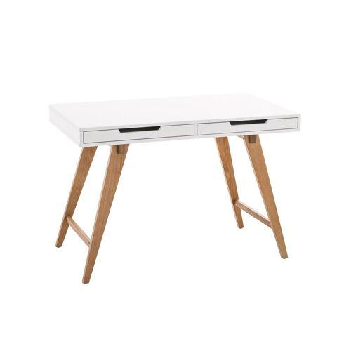 CLP Schreibtisch »Porto V2«, mit Eichenholzgestell