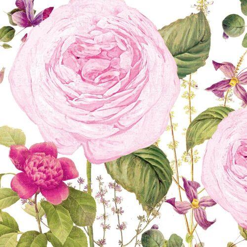 PPD Papierserviette »Princess Rose 20 Stück 12.5 cm«