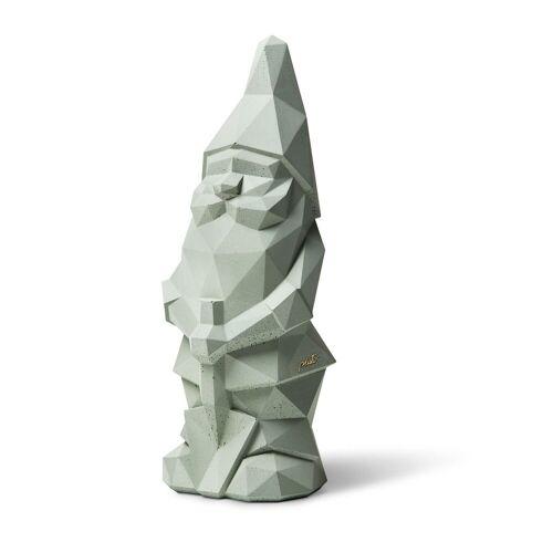 Plato Design Gartenzwerg »Nino«, (1 St), Höhe: 36cm, Material: Beton, Ozeangrün