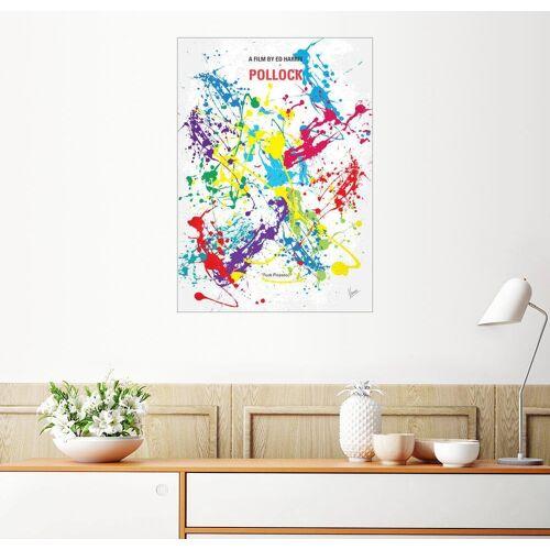 Posterlounge Wandbild, Premium-Poster Pollock
