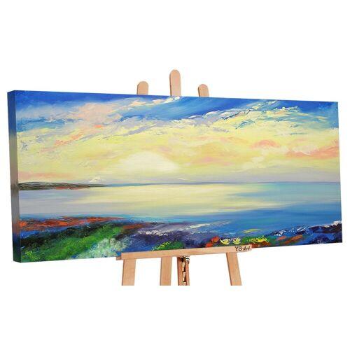 ART YS-Art Gemälde »Wunderschöner Morgen 044«