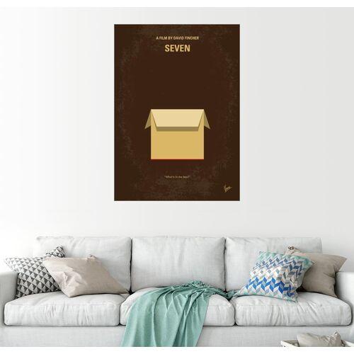 Posterlounge Wandbild, Premium-Poster Seven