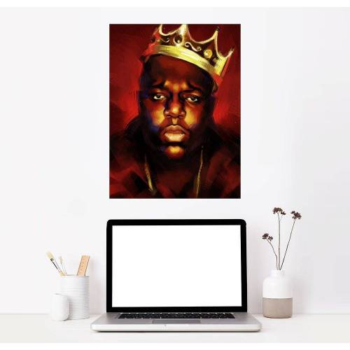 Posterlounge Wandbild, Premium-Poster Biggie