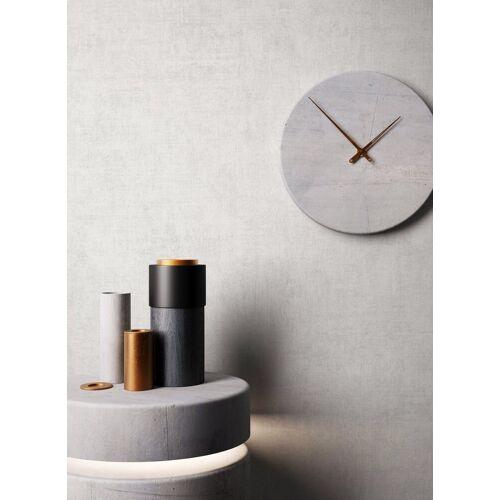 Newroom Vliestapete, Grau Tapete Struktur Modern - Uni Weiß Monochrom Schlicht für Schlafzimmer Küche Wohnzimmer