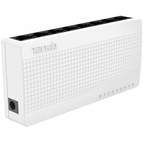 Tenda »Switch S108 8-port 8x10/100 Desktop« Netzwerk-Switch