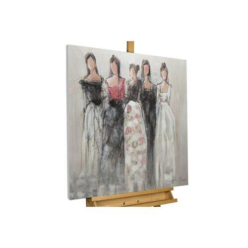 KUNSTLOFT Gemälde »Unbekannte Schönheit«, handgemaltes Bild auf Leinwand