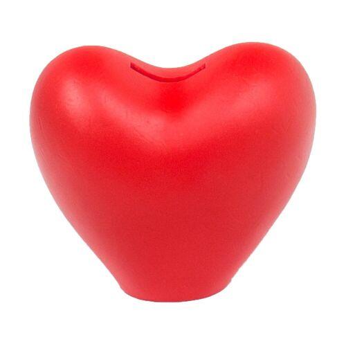 HMF Spardose »489«, Herz mit Schlüssel, 13,5 x 13,5 x 10 cm