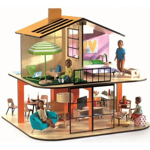 DJECO Puppenhaus »Puppenhaus - Farbiges Haus«
