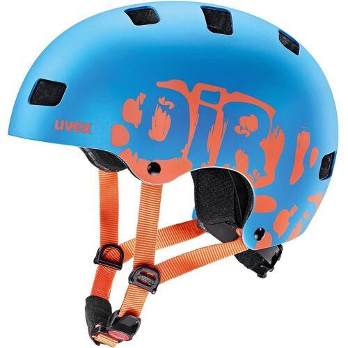 Uvex Kinderfahrradhelm »Fahrradhelm kid 3 cc blue mat 51-55 cm«
