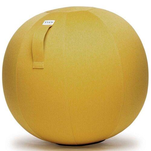 VLUV Stuhl »Leiv Stoff-Sitzball Durchmesser 50-55 cm Mustard / Senfgelb«