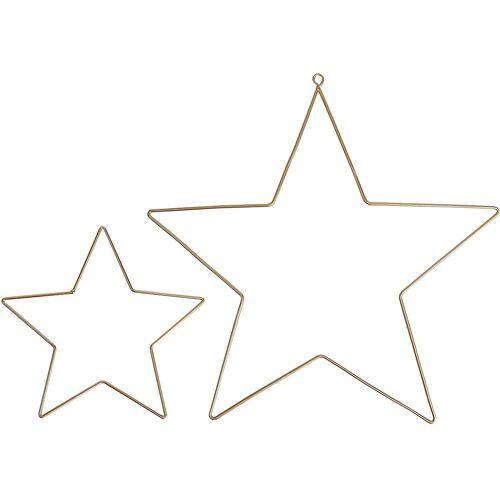 """Hotex Dekohänger »2-tlg. Dekoanhänger """"Sterne""""«"""