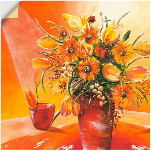 Artland Wandbild »Blumenstrauß in Vase I«, Blumen (1 Stück)