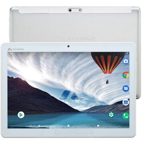 "Acepad A121 v2021 Tablet (10.1"", 64 GB, Android, 4G (LTE), Dual-SIM, 10"", WiFi), Weiß"