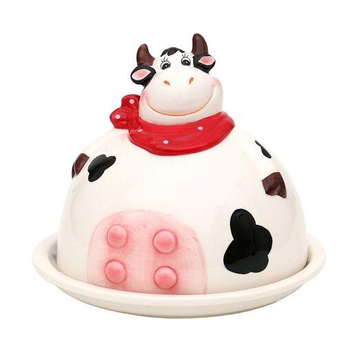 SIGRO Butterdose »Dolomite Butterdose Kuh«, Keramik