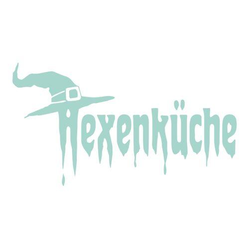 dekodino Wandtattoo »Hexenküche mit Hut« (1 Stück), 49 - mint