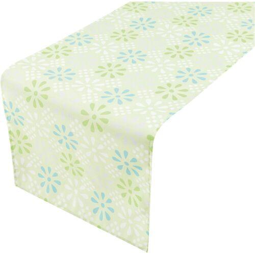 2LIF Tischläufer, blau/grün