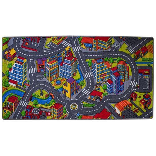 Mr. Ghorbani Teppich »Spielstraße Amsterdam 200 x 100 cm«, , Rechteckig, Höhe 5 mm