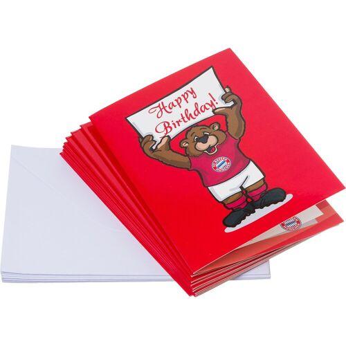FC Bayern Geburtstagskarte »Einladungskarten 10er Set«