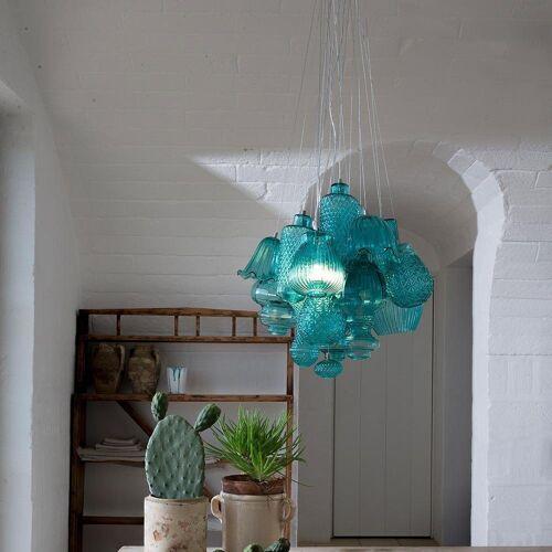 Karman Pendelleuchte »Ceraunavolta Design XL«, Tiffany