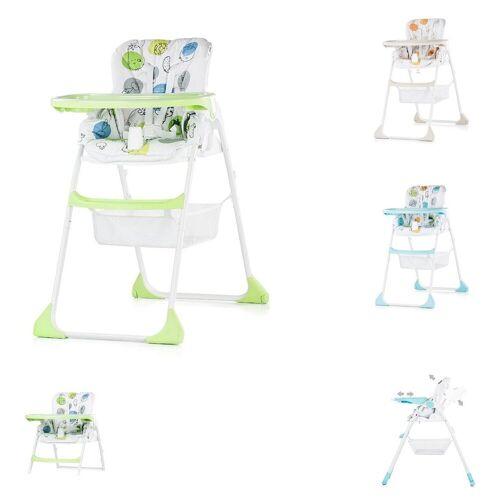 Chipolino Hochstuhl »Hochstuhl 2 in 1 Regalo« Hochstuhl und Kinderstuhl, Höhe verstellbar, grün
