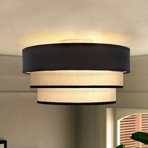 ZMH Deckenleuchte »Rund Deckenlampe Ø40cm E27 aus Moderner Stoff-Lampenschirm für Schlafzimmer Esszimmer«