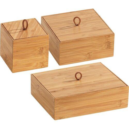 WENKO Aufbewahrungsbox »Terra« (Set, 3 Stück), Organizer-Set